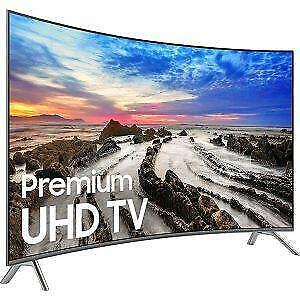 SAMSUNG 55INCH 4K UHD CURVED SMART LED TV 8 SERIES (UN55NU8500) NO TAX SALE
