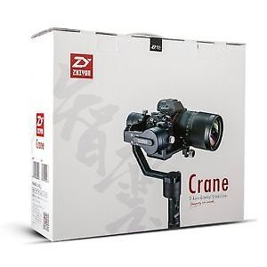 Zhiyun Crane v2 - DSLR 3-axis Gimbal - Used Once - 2 Weeks Old Mount Hawthorn Vincent Area Preview