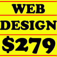 CUSTOM WEB DESIGN Service Websites Designers Toronto Cheap $279