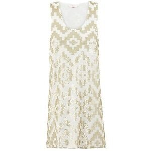 *REDUCED* BRAND NEW SASS & BIDE THE ROOKIE DRESS IVORY GOLD Curl Curl Manly Area Preview