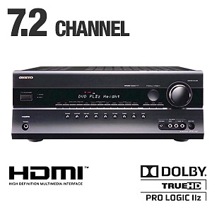 Onkyo HT-RC160 Home theatre receiver 7.2 w iphone dock 5/1 HDMI