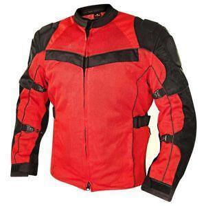 Alpinestars Leather Jacket >> Red and Black Motorcycle Jacket | eBay
