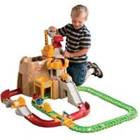 Brand new in box little tikes railway construction