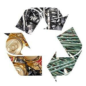 recycle all types of metal Recyclez tous les types de métal,