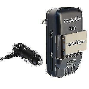Digipower Universal Camera Battery Charger (TCU400)-Charge any battery