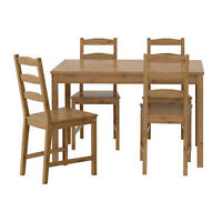 WOODEN CHAIRS (4 Available) - Only $25/each GREAT DEAL!