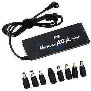NEW Universal 70W AC Adapter for Laptop Dell Toshiba Charger