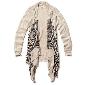 HOLLISTER DRAPEY KNIT CARDIGAN! GOOD CONDITION
