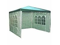 Redstone Outdoors 3x3 green gazebo with sides