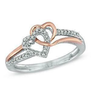 diamond heart promise rings - Wedding Rings For Her