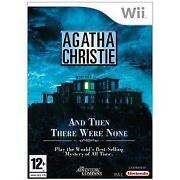 Agatha Christie and Then There Were None Wii