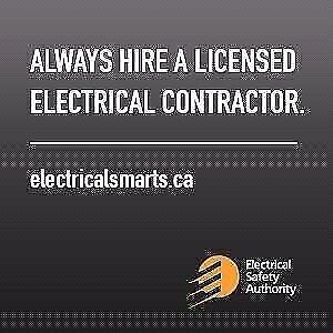 ELECTRICIAN FOR ALL YOUR ELECTRICAL NEEDS  705-874-8473 Kawartha Lakes Peterborough Area image 1