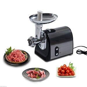 Hachoir à viande machine à saucisses 1200 watts- Acier Stainless Saguenay Saguenay-Lac-Saint-Jean image 1