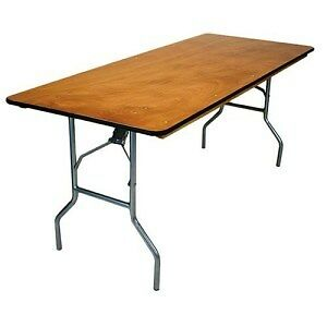 6 ft. Folding Banquet Table.