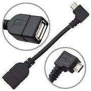 Micro USB Host Mode OTG Cable