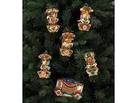 VINTAGE CAROUSEL XMAS TREE LIGHTS WITH 25 XMAS CAROLS MUSICBOX
