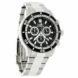 INVICTA WATCH  QUARTZ Chronograph, Luminous, Stop-Watch SWISS MADE FOR MEN