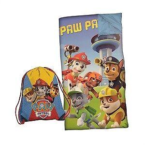 Ensemble sac de couchage Pat Patrouille neuf