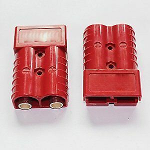 50 Amp Quick Connect/Disconnect Ends Winchs/Trailers Etc. with t