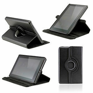 "Étui rotatif 360 Amazon tablette kindle fire 1st gen 7"" HD case"