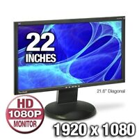 "Viewsonic 22"" 1080p Widescreen LCD Monitor with Speakers"