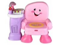 Laugh & Learn Musical Activity Chair - Pink
