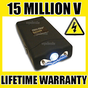 VIPERTEK VTS-880 15 Million Volt Self Defense Rechargeable Mini Stun Gun