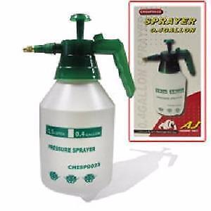Brand New 0.4Gal/1Gal/1.3Gal/4Gal Hand Pump Pressure Sprayer