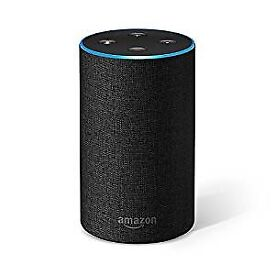 Brand New Boxed Amazon Echo 2nd Generation (Charcoal