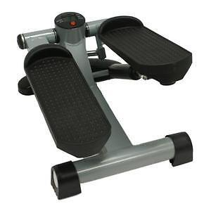 MAX FITNESS BLACK MINI STEPPER LEG/THIGH TONER/TONING MACHINE LOW IMPACT STEPS