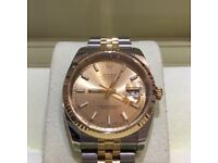 Rolex ,Omega ,Breitling ,Patek or Cartier watch wanted up to £10k