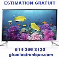 REPARATION: SMART TV-LCD-PLASMA-VENTE PIÈCES.ESTIMATION GRATUIT
