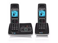 bt twin set cordless phone