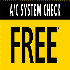 FREE A/C INSPECTION / RECHARGE $59.99