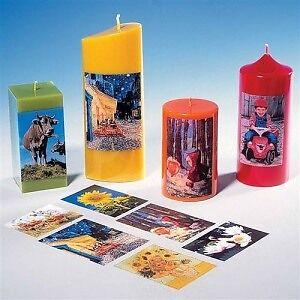 Foto-Transferpapier DIN A4 Fotos auf Kerzen übertragen