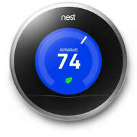 Nest Learning Thermostat regularly $250-$300 ONLY $115 NEW