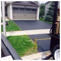 Driveway Sealing, Extensions and Repair! Hot Asphalt Application