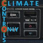 Climate Controls Only