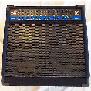 Yorkville 300k Stereo (4chn) keyboard amp w/ RCA Aux in