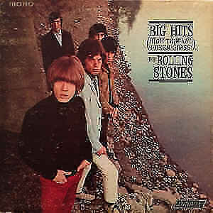 A Collection of Vintage Rolling Stones Vinyl Lps-Bargain Price
