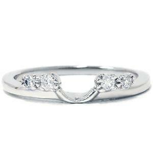 white gold ring guards - Wedding Ring Guards