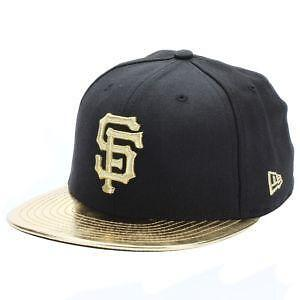 sf giants gold hat