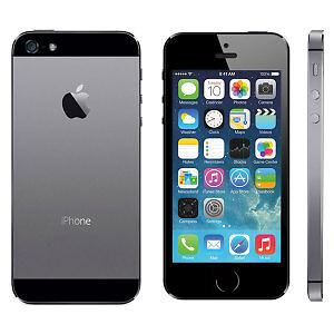 iPhone 5S space grey locked to wind