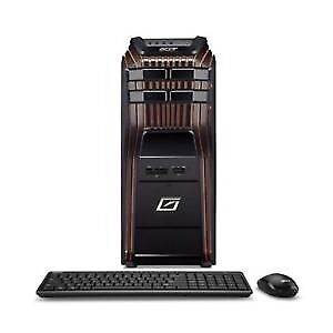 Acer Predator G5900 Desktop PC i7-870 2.93GHz DDR3 8GB 3 tb H57H-AM2 HD5870