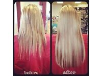 Micro Ring Hair Extensions - £120 to £200
