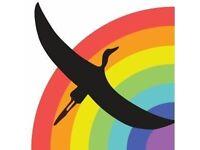 Rainbow Heron Cafe Volunteer