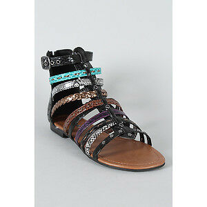 Soda Gladiator Sandals-NEW