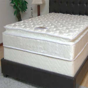 MATTRESS PLAZA PILLOW TOP QUEEN MATTRESS BOX SET SALE !!!