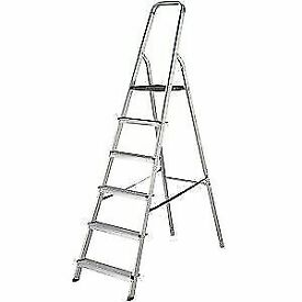6 STEP - HIGH HANDRAIL STEPLADDERS 6 TREAD