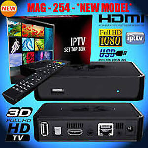 IPTV Boxes and Subscription - Mag 256